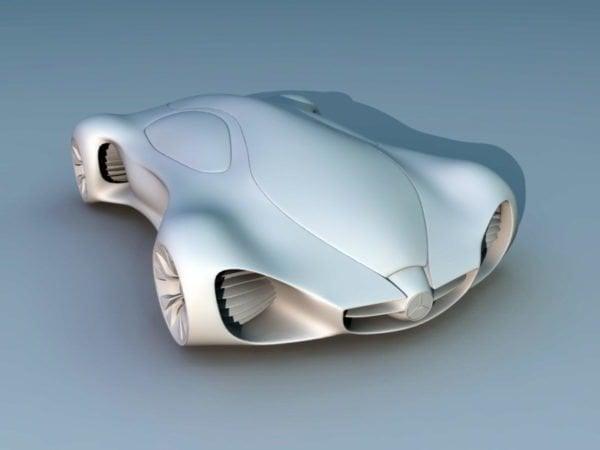 Benz Concept Car 3D Model