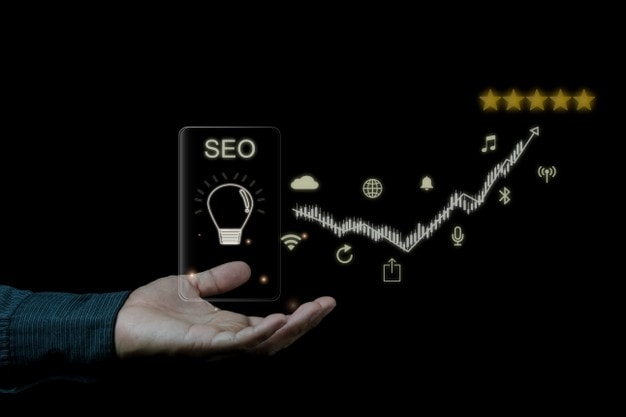 digital marketing seo photo concept idea with special infographic content 41466 8961