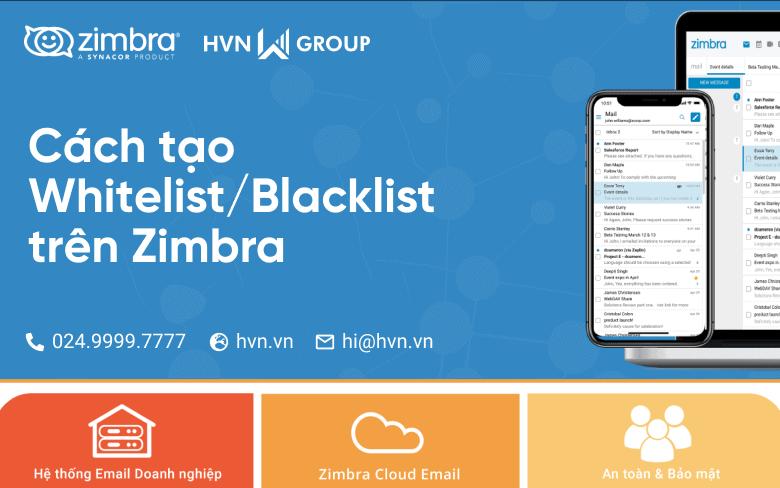 Blacklist tren Zimbra Webmail