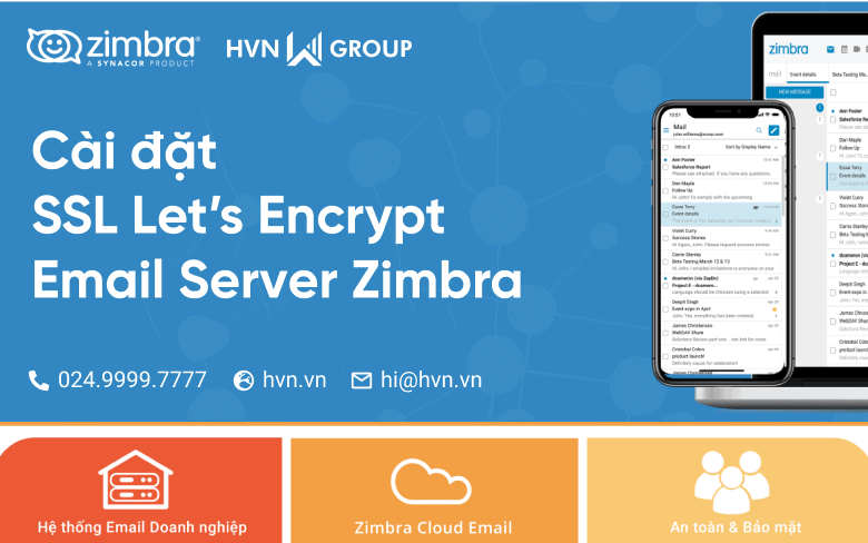 Zimbra – Huong dan cai dat SSL Lets Encrypt email server zimbra