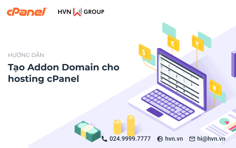 tao Addon Domain cho hosting cPanel