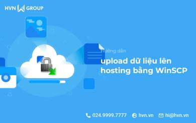 upload du lieu len hosting bang WinSCP